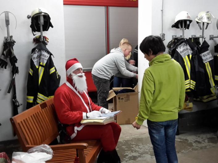Geschenke vom Weihnachtsmann