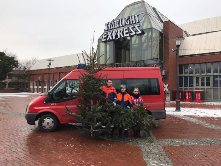 Auch der Baum vom Starlight Express wurde von uns abgeholt