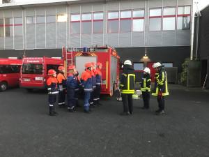 Übungsdienst Innenangriff und Atemschutzstrecke Wache 1 15.03.17