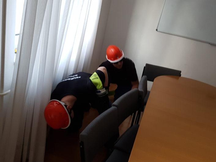 28.04.18 Übungsdienst Innenangriff